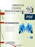 Instrumentos Financieros Inversiones Rehecho