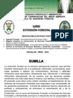 Presentación - Extensión Forestal - Ing. Forestal - 2016 (1)