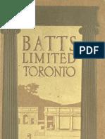 (1913) Catalogue