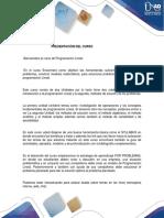Presentacion del Curso Programacion Lineal.pdf