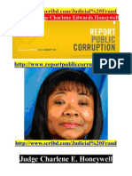 Report Public Corruption Crooked Judge Charlene E. Honeywell