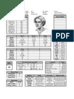 Del Character Sheet