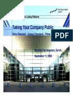 Deutsche Boerse Going Public IPO