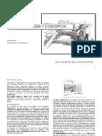 Los Conceptos en Arquitectura