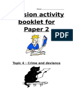 Crime and Deviance Revision