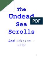 Ravenloft - The Undead Sea Scrolls - 2002