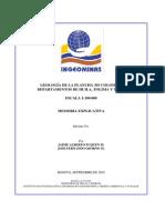 Geologia Del Tolima
