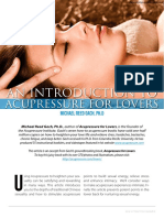 Acupressure for  Lovers Article