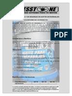 Hesstone Aceite de Engranajes Sae 90-140-250 Servicio API-gl 1