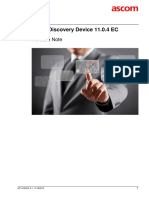 TEMS Discovery Device 11.0.4 EC Release Note