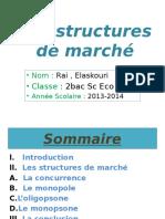 Les Structures de Marche