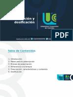 PRESCRIPCION Y DOSISFICACION.pptx
