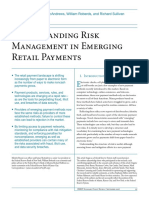 Risk Management in Emerging Payments