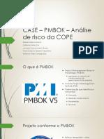 CASE – PMBOK – Análise de risco da.pdf