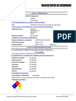 Ultragel II Safety Data Sheet Espanol