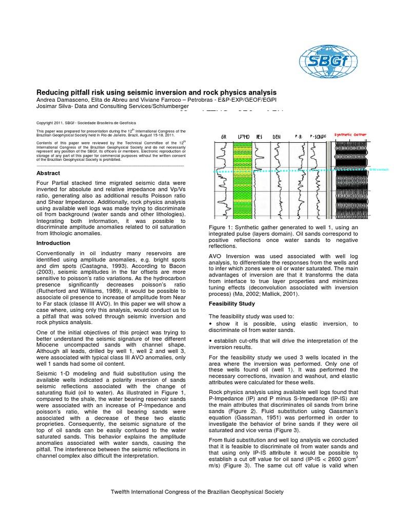 2949pdf reflection seismology applied and interdisciplinary physics