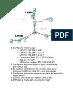 Configurer Ospf Dhcp Rdefaut