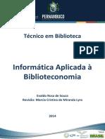 Informática Aplicada a Biblioteconomia