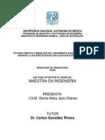 Estudio Cinetico y Modelado Del Crecimieto Equiaxial Durante La Solidificacion