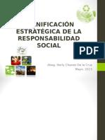 Planificación Estratégica de La Responsabilidad Social