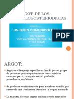 Argot de Los Comunicólogos y Periodistas (2)