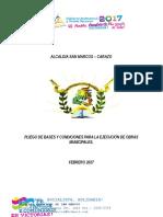 Pbc Adoquinado de Calle Martin Lopez