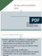 Etiología de Las Enfermedades Periodontales