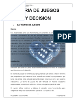 Teoria de Juegos y Decisiones ii