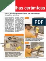 Ed. 10 - Mar-Abr-2007 - Pastilhas Cerâmicas