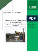 Reparacion de Un Paso Superior Informe Tecnico
