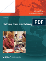 Guideline RNAO Ostomy Care Management