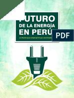 Estudio - Futuro de La Energía en Perú - Alberto Ríos. Fsp - Ir