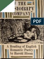 The Visionary Company a Reading of English Romanti