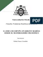 Tesis La Idea de España en Julian Marias