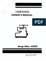 Manual Simplicity SergeMate 4350D