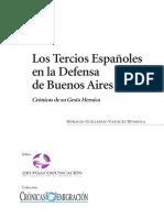Tercios Espanoles en La Defense de Buenos Aires