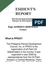 President's Report 2