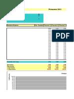 Plantilla de Excel Para Notas Academicas