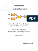 Diseño Digital con Verilog - Laboratorio 1