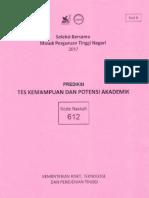 Prediksi TKPA 2017