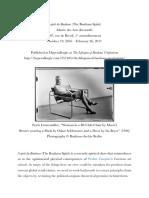 Review of l'esprit du Bauhaus (The Bauhaus Spirit)