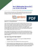 Instalasi Zimbra Collaboration Server 8.0.7 Di Ubuntu Server 12.04 LTS 64 Bit (Webmin)