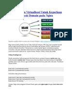 Menerapkan Virtualhost Untuk Keperluan Banyak Domain Pada Nginx