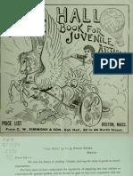 (1880) Oak Hall Outline Book for Juvenile Artists