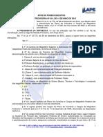MP 614-2013 - Estruturação Magistério Federal