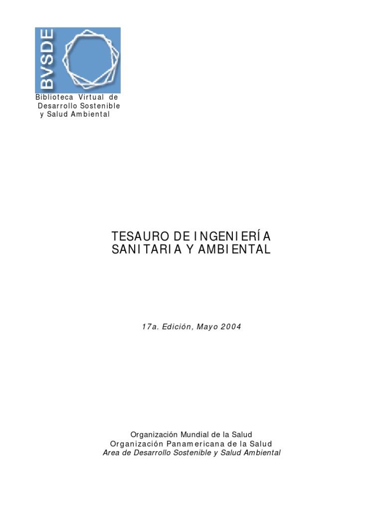 Tesauros - Ingeniería Sanitaria & Ambiental.pdf