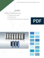 WEG Reles Electronicos 50034664 Catalogo Espanol