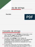 Tratamento de Strings