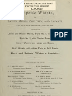(1881) Equipoise Waists for Ladies, Misses, ChildreN & Infants