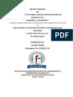 CUSTOMER SATISFACTION ON MAHINDRA AND MANHINDR ACOM.pdf